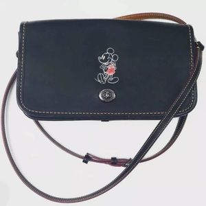 Coach X Mickey Mouse Penny Glove Crossbody Bag